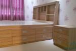 Giường ngăn kéo gỗ công nghiệp MFC nhà Anh Văn, Quận 12, TPHCM