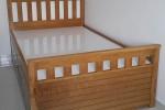 Giường ngủ gỗ Sồi có hộc kéo nhà Chị Giao, Tân Phú, TPHCM