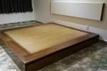 Giường ngăn kéo gỗ Sồi Mỹ nhà Chị Châu, Phú Nhuận, TPHCM