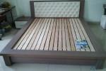 Giường ngủ kiểu Nhật bọc nệm nhà Anh Nam tại Gò Vấp, TPHCM