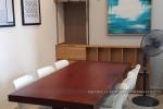 Bộ bàn ăn gỗ tự nhiên nhà Anh Thi Quận 6, TP.HCM