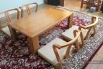 Bộ bàn trà gỗ Sồi tự nhiên nhà Chị My Quận 12, TP.HCM
