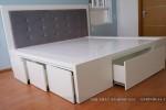 Giường ngủ có ngăn kéo nhà Chị Thuý Anh Quận 6, TP.HCM