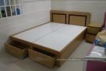Giường ngủ có ngăn kéo nhà Chị Vân Nhà Bè, TP.HCM