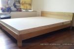 Giường ngủ gỗ Sồi tự nhiên nhà Chị Trang Quận 2, TP.HCM