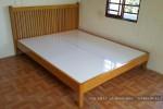 Giường ngủ gỗ Sồi tự nhiên nhà Chị Trinh Quận 12, TP.HCM