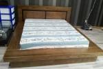 Giường ngủ kiểu Nhật gỗ Sồi Mỹ nhà Anh Hùng tại Quận Gò Vấp, TPHCM