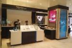 Cung cấp & lắp đặt nội thất gian hàng mỹ phẩm Naris Nhật Bản