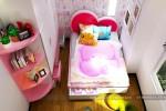Phòng ngủ bé gái nhà Chị Lành, Gò Vấp, TPHCM (PA2)