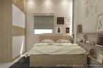 Phòng ngủ Master nhà anh Hoàng, Bình Thạnh, TPHCM