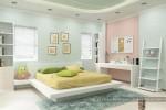 Phòng ngủ bé gái nhà Chị Tuyết, Gò Vấp, TPHCM