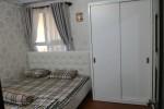 Tủ quần áo cửa lùa gỗ MDF sơn trắng nhà Anh Duy, Gò Vấp, TPHCM