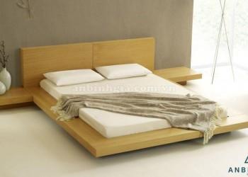 Giường ngủ thấp kiểu Nhật gỗ MDF-GKN 01