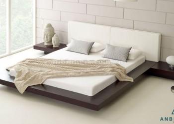 Giường kiểu Nhật gỗ MDF - GKN 04
