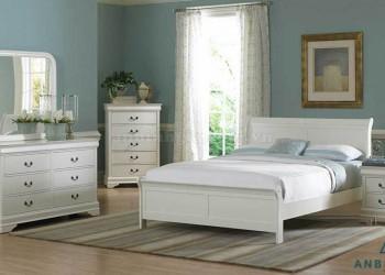 Bộ giường ngủ ván ép MDF - GCN 06