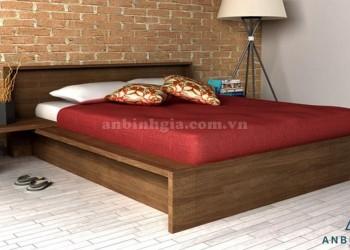 Giường kiểu Nhật gỗ Xoan Đào - GKN 06