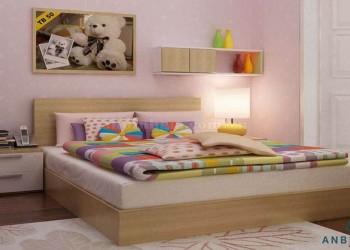 Giường ngủ MFC Melamine - GCN 07