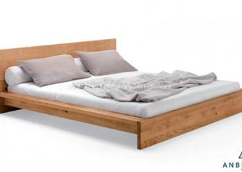 Giường ngủ kiểu Nhật gỗ Sồi Mỹ - GKN 08