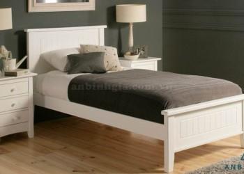 Giường đơn gỗ công nghiệp MDF - GCN 08