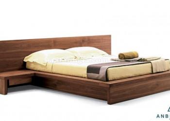 Giường ngủ kiểu Nhật gỗ Xoan Đào-GKN 09