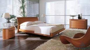 Giường gỗ công nghiệp MDF hiện đại - 09