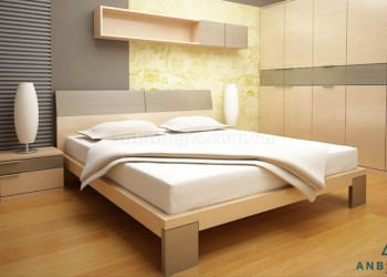 Bộ giường tủ gỗ công nghiệp MDF - GCN 10