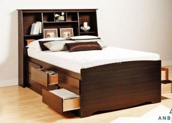 Giường ngăn kéo gỗ MFC - GNK 10