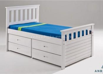Giường ngủ gỗ MDF có hộc kéo - GNK 11