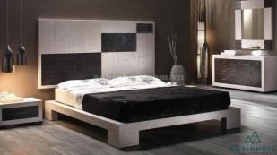 Giường gỗ MDF kiểu Nhật - GKN 13