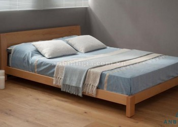 Giường ngủ Nhật Bản gỗ Sồi Mỹ - GKN 14