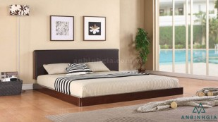 Giường ngủ gỗ MDF chân thấp - GCN 17