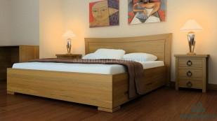 Giường gỗ MDF có ngăn kéo - GNK 17