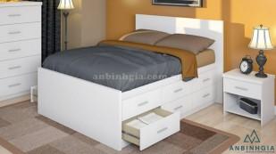 Giường ngăn kéo bằng gỗ MDF - GNK 18