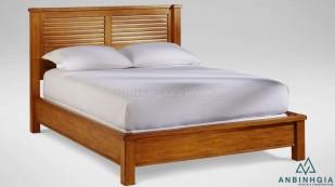 Giường đẹp bằng gỗ Xoan Đào - GTN 21