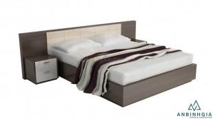 Giường gỗ công nghiệp MDF vân gỗ - 22