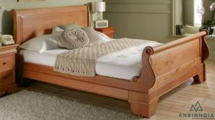 Giường gỗ Sồi trắng tự nhiên - GTN 22
