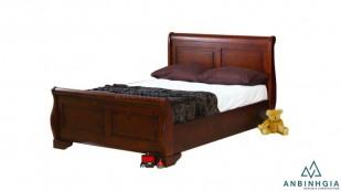 Giường gỗ Xoan Đào tự nhiên 1m6 - GTN23