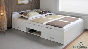Giường gỗ MFC có hộc tủ - GNK 24