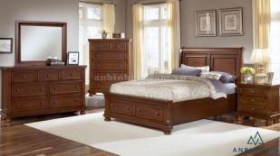 Giường ngăn kéo bằng gỗ Xoan Đào - 34