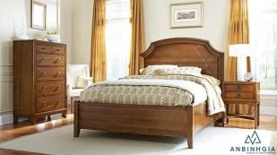 Giường gỗ Xoan Đào kiểu cổ điển - GTN 49