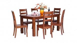 Bộ bàn ăn bằng gỗ