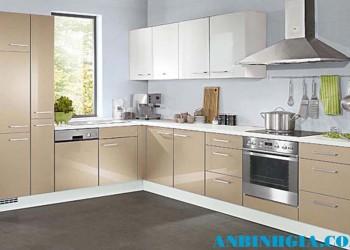 Tủ bếp bằng gỗ đẹp - MS 03
