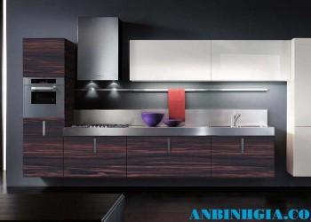 Tủ bếp cao cấp hiện đại - MS 08