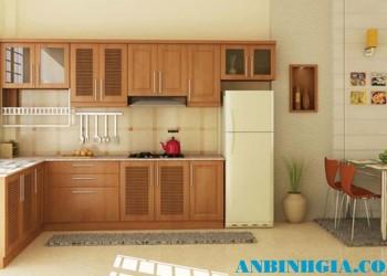 Tủ bếp cho căn hộ nhỏ - MS 10