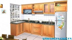 Tủ bếp cho không gian hẹp - MS 11