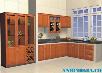 Tủ bếp đẹp cho căn hộ nhỏ - MS 13