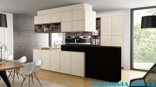 Tủ bếp đẹp chữ I - MS 15