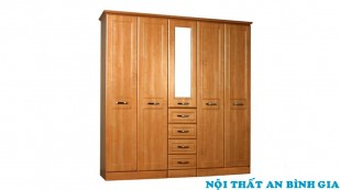 Tủ quần áo gỗ tự nhiên 41