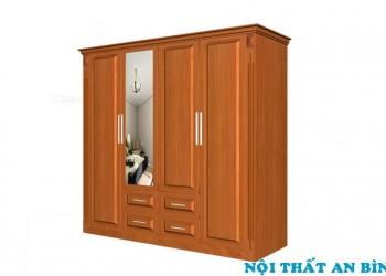 Tủ quần áo gỗ tự nhiên 01