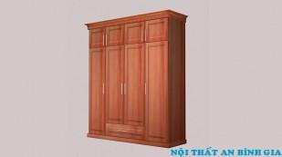 Tủ quần áo gỗ tự nhiên 03